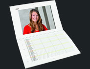 calendrier planning double page A3