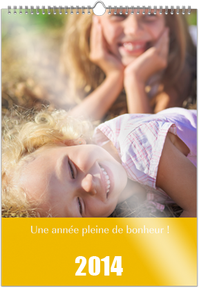 calendrier photo mural A3 personnalise papier brillant