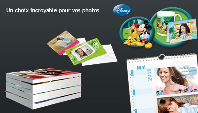 tirage photo et calendrier photo