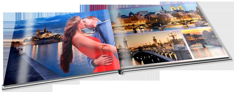 livre photo a4 panorama commander cr er en ligne avec papier photo et brillant par cewe. Black Bedroom Furniture Sets. Home Design Ideas