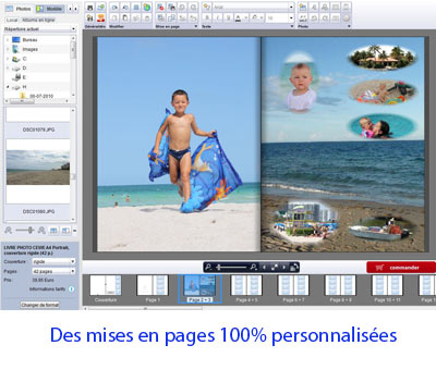 logiciel creation d album photo