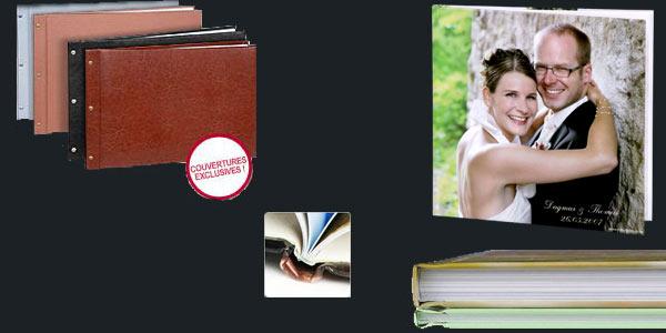 livres photo mariage exemples de livres albums photo commander sur internet avec logiciel. Black Bedroom Furniture Sets. Home Design Ideas
