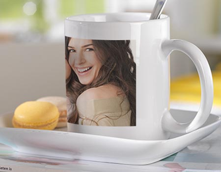 mug panorama avec photo