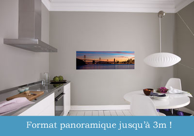 poster photo XXL panoramique