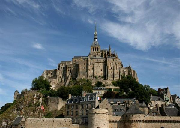 Photo: mt st michel vue gle couleur juillet 2009 339 blog