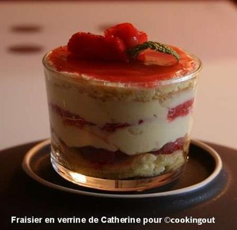 Fraisier en Verrine