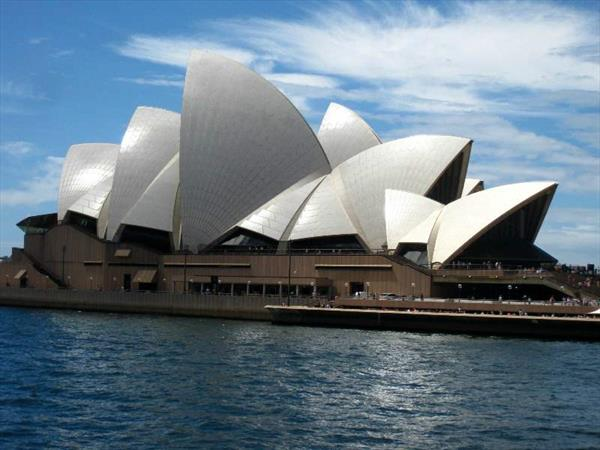 Photo: Australie, Sydney -  l'opéra