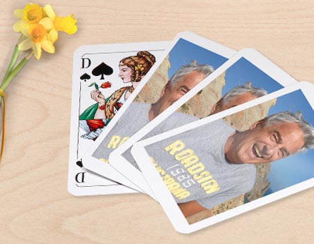 jeu de 32 cartes avec photo