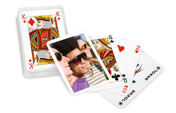 jeu de poker 52 cartes avec photo