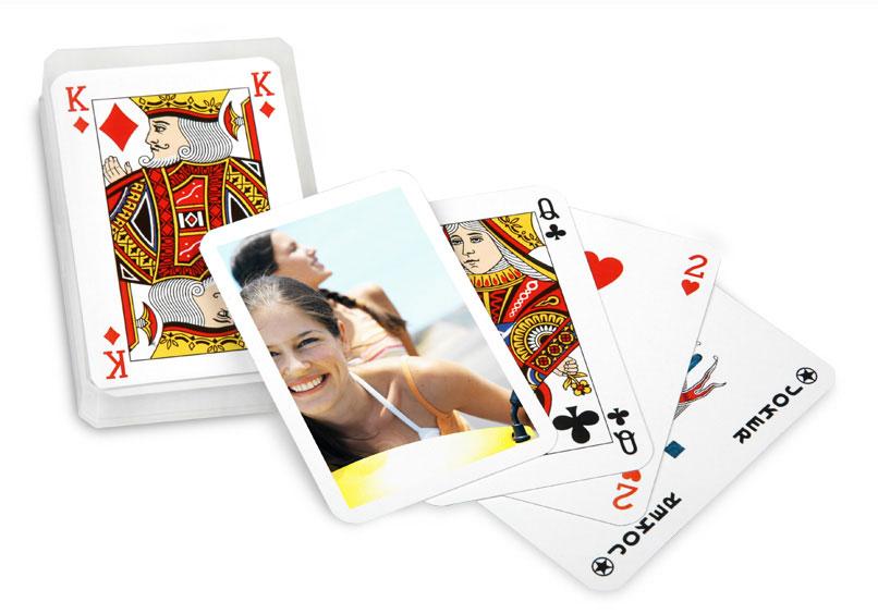 créer un jeu de carte personnalisé Jeu de cartes de poker personnalisé avec photo à commander sur