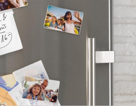Magnet frigo avec photo