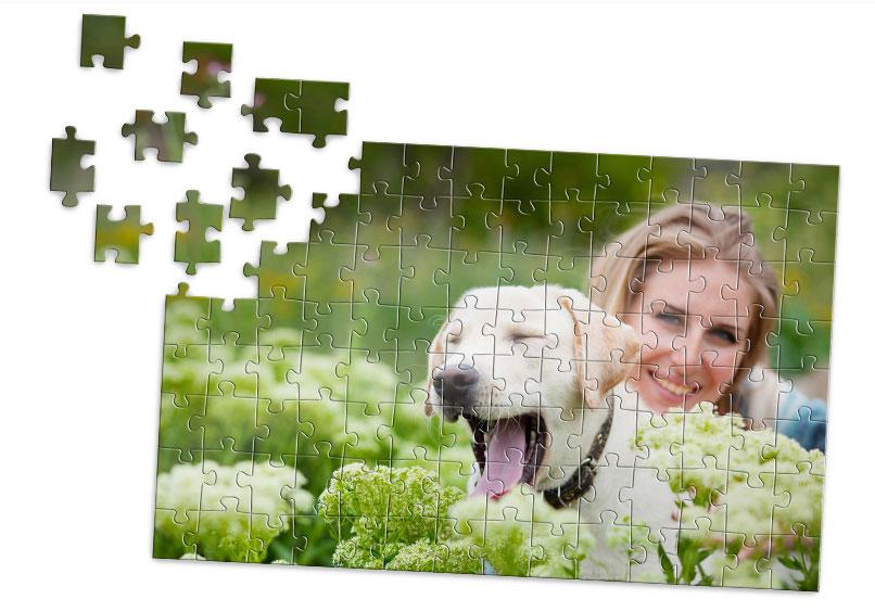 puzzle personnalis 112 pi ces avec photo cr ation de. Black Bedroom Furniture Sets. Home Design Ideas
