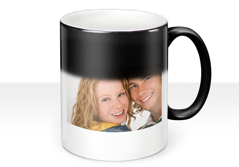 mug magique personnalisable photo