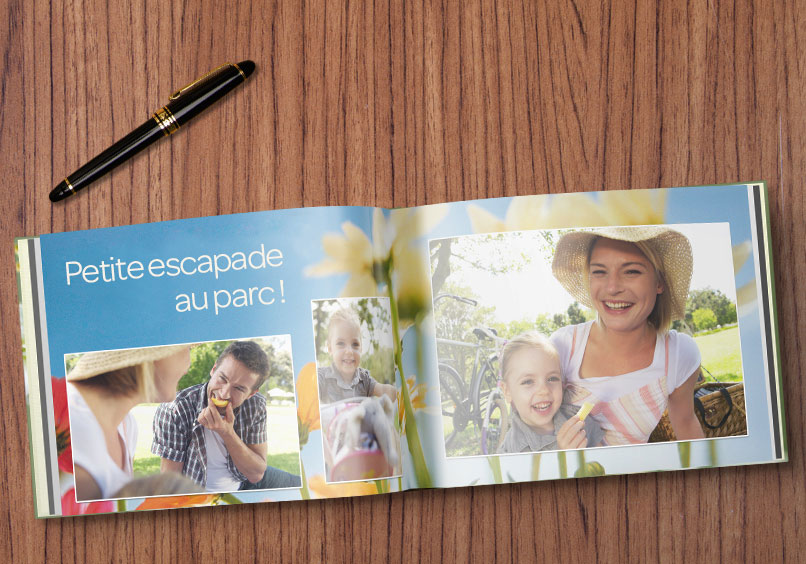 livre photo A5 portrait satiné