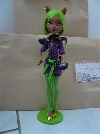 Lunaphee partage ses photos sur comboost album photo - Clawdeen wolf pyjama party ...